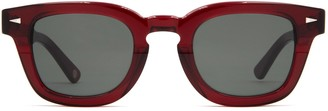 AHLEM Champ De Mars Burgundy Sunglasses