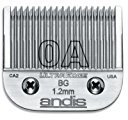 Andis Carbon-Infused Steel UltraEdge Dog Clipper Blade, Size-0A, 3/64-Inch Cut Length (64210)