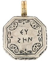Konstantino Two-Tone Engraved Pendant