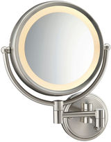 Conair BE6WMX Fluorescent Satin Nickel Wall-MountMirror