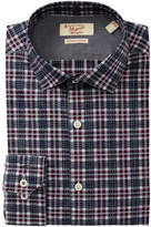 Original Penguin Slim Fit Plaid Dress Shirt