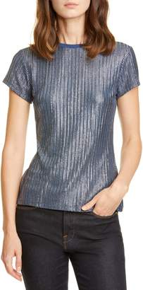 Ted Baker Catrino Fitted Metallic Tee