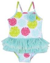 Little Me Baby Girls Daisy Tutu Swimsuit