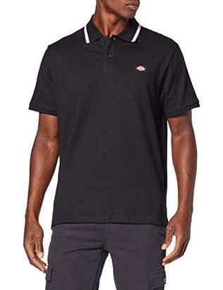 Dickies Men's Wendover Polo Shirt, (Black BK), M