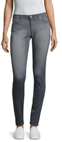 AG Adriano Goldschmied Faded and Whiskered Denim Leggings