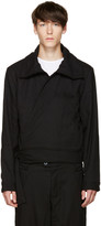 Telfar Black Wrap Jacket