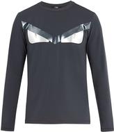 Fendi Bag Bugs-print jersey sweatshirt