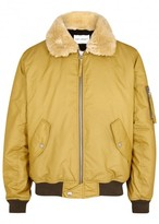 Our Legacy Mustard Cotton Blend Bomber Jacket