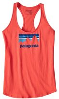 Patagonia Women's Shop Sticker Cotton Tank Top