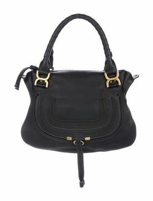 Chloé Medium Marcie Shoulder Bag Black