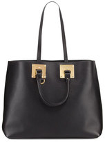 Sophie Hulme Soft East-West Tote Bag, Black