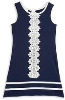 Iris & Ivy Girls 7-16 Embossed Lace Shift Dress