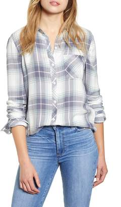 BeachLunchLounge Plaid Button-Up Shirt