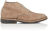 Buttero Men's Textured Suede Chukka Boots