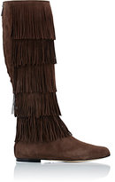 Paul Andrew WOMEN'S IRVING KNEE-HIGH BOOTS-BROWN SIZE 10