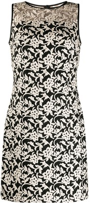 Lauren Ralph Lauren Floral Embroidery Dress