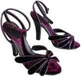 Azzaro Velvet Sandals
