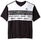 Rocawear Men's Big and Tall Monogram Short Sleeve Knit