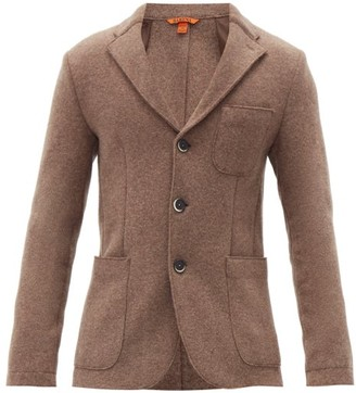 Barena Slanega Single-breasted Wool-blend Blazer - Grey