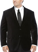Jf J.Ferrar JF Velvet Sport Coat - Big & Tall