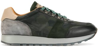 Magnanni Colour Blocked Low-Top Sneakers