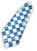 Mackenzie Childs MacKenzie-Childs Berry Blue Check Napkin