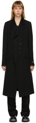 Ann Demeulemeester SSENSE Exclusive Black God of Wild Simplistic Coat
