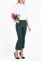Rosetta Getty Flare Cropped Trousers