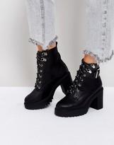 Asos EDGE Chunky Hiker Boots