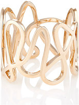 Repossi Women's Pink Gold White Noise Ring-PINK