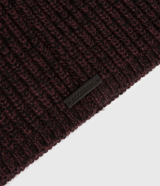 AllSaints Twisted Wool Blend Beanie