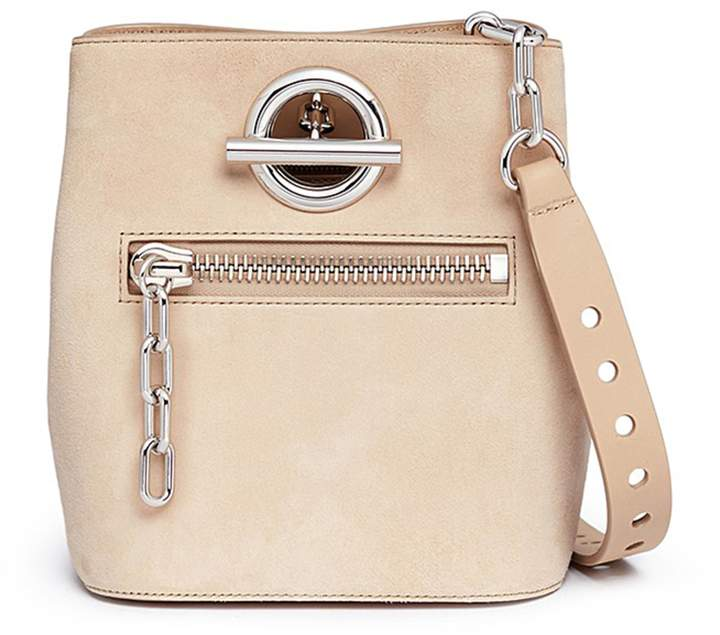 Alexander Wang 'Riot' suede crossbody bucket bag