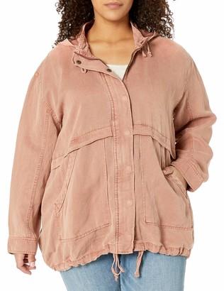 Lucky Brand Women's Size Plus Hooded Jacket