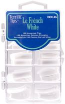 Terrific Tips Le French White Nail Tips