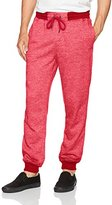 Southpole Men's Jogger Pants In French Terry Basic Marled
