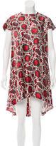 Balenciaga Printed High-Low Dress