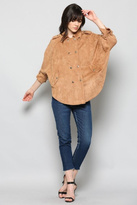 Fate Faux Suede Jacket