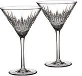 Waterford Crystal Lismore Diamond Martini Glasses, Set of 2