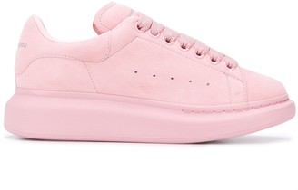 Alexander McQueen Flatform Low-Top Sneakers