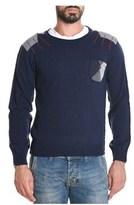 BOB Strollers Men's Blue Wool Sweater.