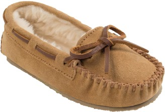Minnetonka Children's Cassie Cinnamon Moc Slippers