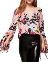 Miss Selfridge Floral Cotton Blouse