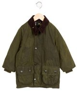 Barbour Boys' Corduroy-Paneled Long Sleeve Jacket
