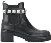MICHAEL Michael Kors Glenn stud-embellished ankle boots