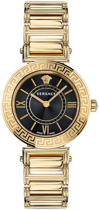 Versace Tribute 35mm Watch in Yellow Gold | FWRD
