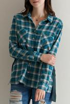 Entro Pretty In Plaid Top