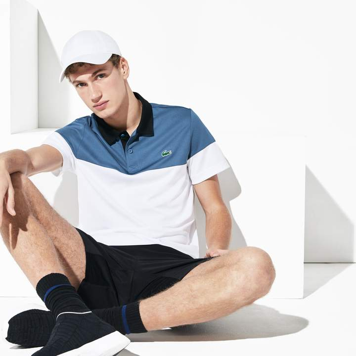 f72f91ab9a Men's SPORT Breathable Pique Tennis Polo