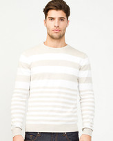 Le Château Stripe Cotton Sweater