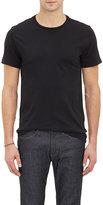 Barneys New York Men's Jersey Crewneck T-Shirt-BLACK