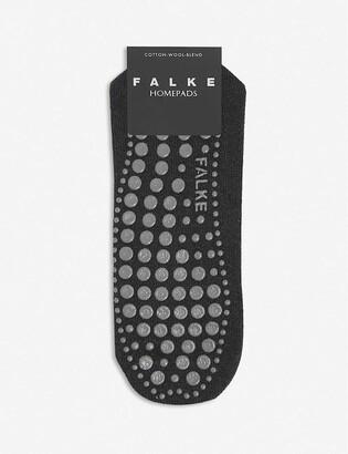Falke Homepads cotton and wool-blend slipper socks